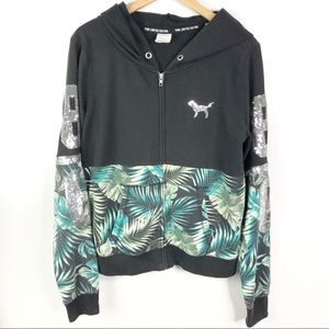 Limited edition RARE! VS Pink  Tropical Sweater L